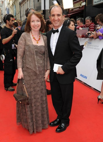 The Thick of It writer and director Armando Iannucci arrives at the London Palladium (BAFTA/Richard Kendal).