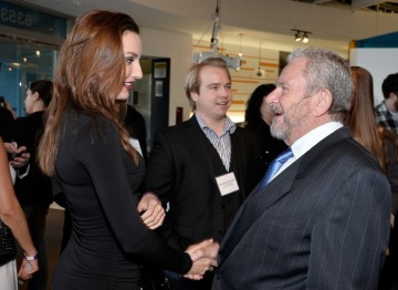 Tatiana DeKhtyar and BAFTA Los Angeles Chairman Gary Dartnall