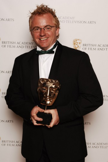 The coveted Break-Through Talent Award was won by Jezza Neumann for his outstanding work on China's Stolen Children - A Dispatches Special (pic: BAFTA / Richard Kendal).