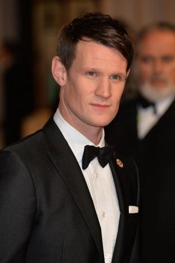 Matt Smith arrives on the red carpet for this years BAFTA Film Awards