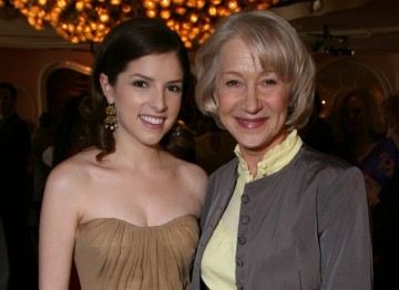 Anna Kendrick and Helen Mirren