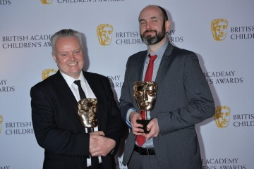 Ooglies wins the Short Form category at the British Academy Children's Awards in 2015, presented by Connor Byrne.