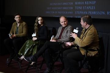 Nicholas Hoult, Lily Collins, Dome Karukoski and Christian Blauvelt