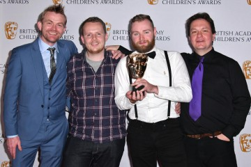 The team behind Lego Dimensions accept the Game Award