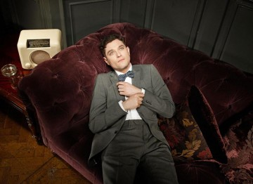 Matthew Horne poses for the Television Awards comedy photoshoot in 2010.