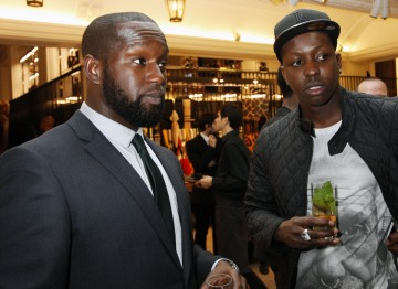 Jamal Edwards at the Breakthrough Brits event.