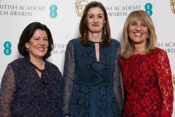 Pippa Harris, Amanda Berry and Jane Lush