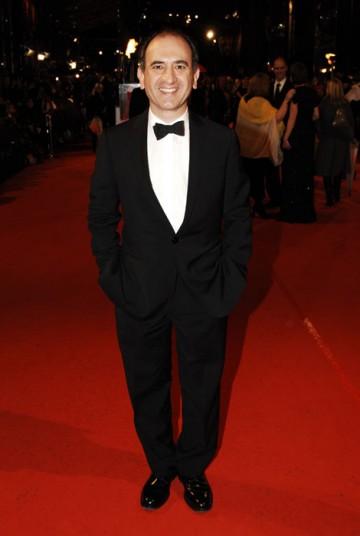 Comedy writer Armando Iannucci hopes his In The Loop will win the Adapted Screenplay award (BAFTA/Richard Kendal).