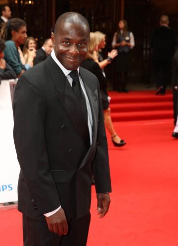 Actor Paterson Joseph arrives on the red carpet (BAFTA/Steve Butler).