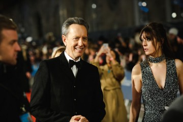 Richard E. Grant arrives on the red carpet
