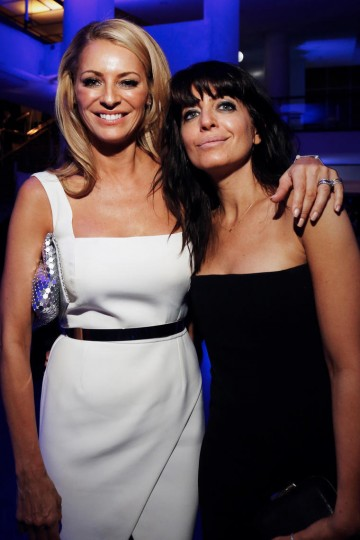 Strictly Come Dancing presenters Tess Daly and Claudia Winkleman pose together