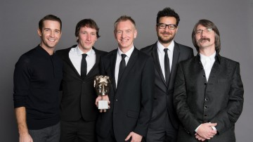 The team behind CITV Share a Story, winner of the Short Form category at the British Academy Children's Awards in 2014, presented by Jay James