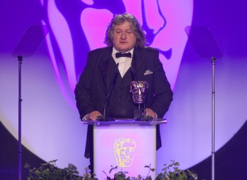 David Roger collects the Production Design BAFTA for Great Expectations