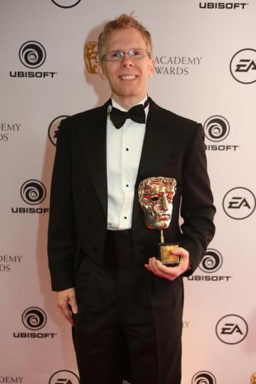 John Cormack is awarded the BAFTA Fellowship