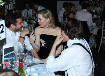The Slap's Melissa George relaxes at the Television Awards After Party.