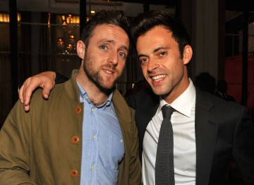Stars of BAFTA-nominated programme The Revolution Will Be Televised; Heydon Prowse and Jolyon Rubinstein