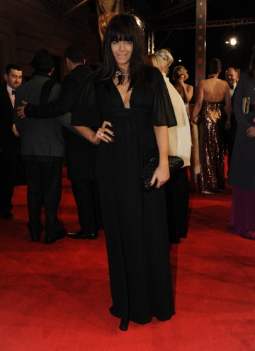 The Film 2012 host looks radiant on the red carpet in Ossie Clark with a Chanel necklace.