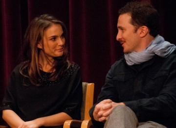Natalie Portman and Director Darren Aronofsky.