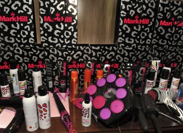 An array of Mark Hill products will help stylists work magic on the nominee's hair.