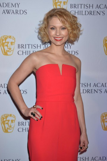 Ripper Street star MyAnna Buring arrives on the red carpet of the British Academy Children's Awards in 2014