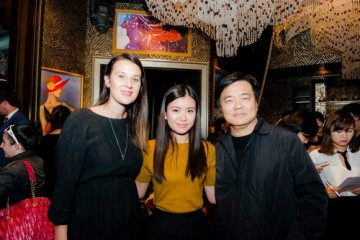 Lauren Dark, Katie Leung & Philip Lee
