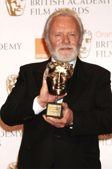 The Fellowship of the Academy was awarded to Anthony Hopkins, in recognition of his distinguished acting career (pic: BAFTA / Richard Kendal)