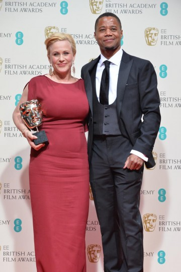 Supporting Actress Patricia Arquette with Cuba Gooding Jr.