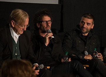 Executive Music Producer T Bone Burnett, Director Joel Coen and Oscar Isaac