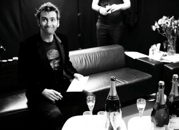 David Tennant backstage at the 2009 BAFTA Television Awards.