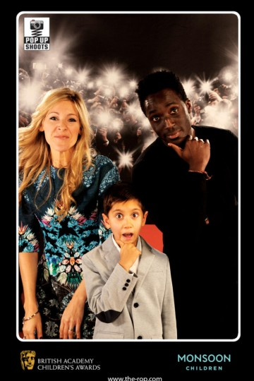Naomi Wilkinson, Andy Akinwolere & a guest