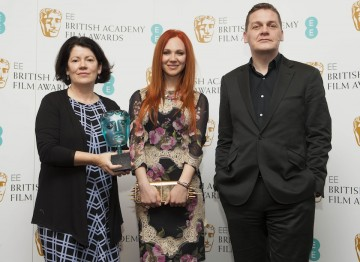 Jury Chair Pippa Harris Nominee Juno Temple And EE Director Of Brand Spencer Mchugh Are Pictured At BAFTA HQ As Nominees For The 2013 EE Rising Star Award Are Announced