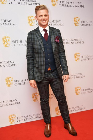 Jeff Brazier at the BAFTA Children's Awards 2015 at the Roundhouse on 22 November 2015