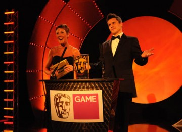Hollyoaks and Holby City star Jeremy Edwards and CEO Lisa Morgan of The GAME Group presented the GAME Award of 2008 Award, the only award voted by public, for Call of Duty 4: Modern Warfare from  (BAFTA / James Kennedy).