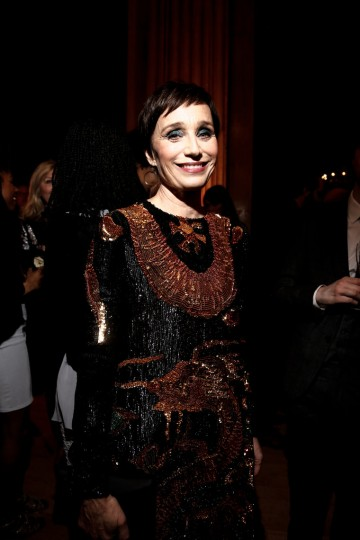 Kristin Scott Thomas at the BAFTA Nespresso Nominees' Party