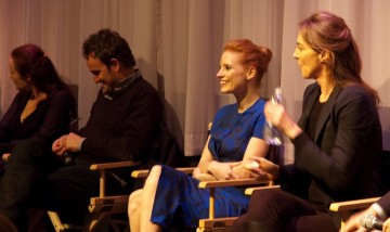 Jennifer Ehle, Jason Clarke, Jessica Chastain and Director Kathryn Bigelow