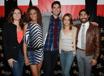 Christy Williams, Toks Olagundoye, Kyle Soehngen, Kimberly McConnell and Leslie Andrew.