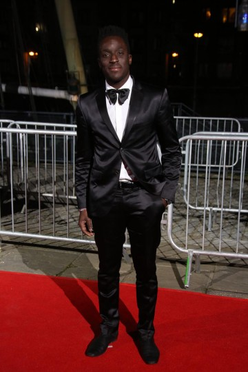 Andy Akinwolere looking sharp on the red carpet
