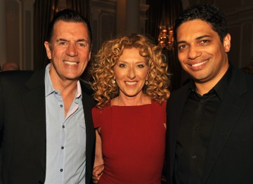 Duncan Bannatyne, Kelly Hoppen and Piers Linney from Dragon's Den which is nominated for Reality And Constructed Factual