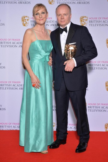 The BAFTA for Leading Actor in 2015 was presented by Lesley Sharp to Jason Watkins for his performance in The Lost Honour Of Christopher Jefferies.