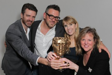 BAFTA Los Angeles Board Members James Knight, Phil Ashcroft, Julia Verdin and Vivian Mayer.
