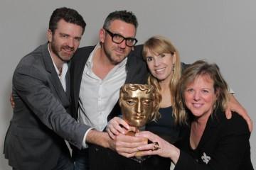 BAFTA Los Angeles Board Members James Knight, Phil Ashcroft, Julia Verdin and Vivian Mayer.