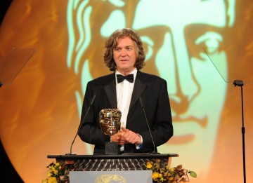 Top Gear's Captain Slow (aka James May) presented the Director Factual category, sponsored by ProductionBase.