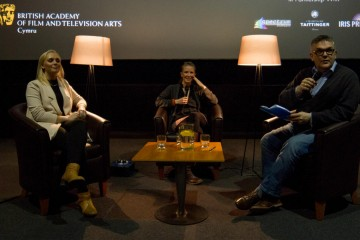 BAFTA Cymru screening of Wolf Hall & UK premier screening of Iris Prize film Followers, followed by Q&A with Wolf Hall location scout & assistant location manager Rebecca Pearson & Graphic designer, Josephine Watinkson