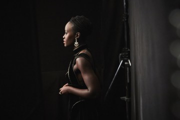 Lupita Nyong'o waiting in the wings