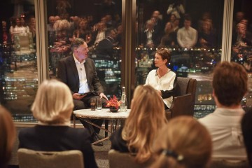 Academy Circle with Celia Imrie, Shangri-La Hotel at The Shard, February 2015 (Photo credit: BAFTA/Ricky Darko)