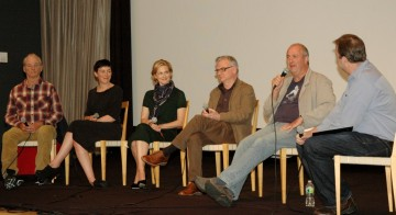 Bill Murray, Olivia Williams, Laura Linney,Writer Richard Nelson, Director Roger Michell and Moderator Patrick Connolly