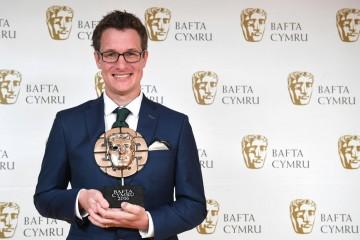 BAFTA Cymru Awards, Press Room, Cardiff, Wales, UK - 02 Oct 2016
