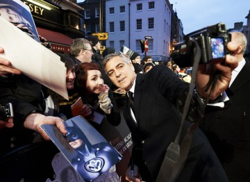 George Clooney at the 2012 Film Awards