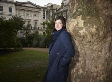 Screenwriter Moira Buffini poses for the BAFTA and BFI Screenwriters' Lecture Series 2011.