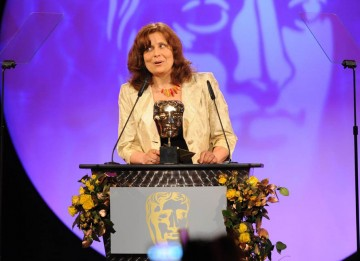 Comedian and The Thick Of It star Rebecca Front introduced the Editing Fiction category.